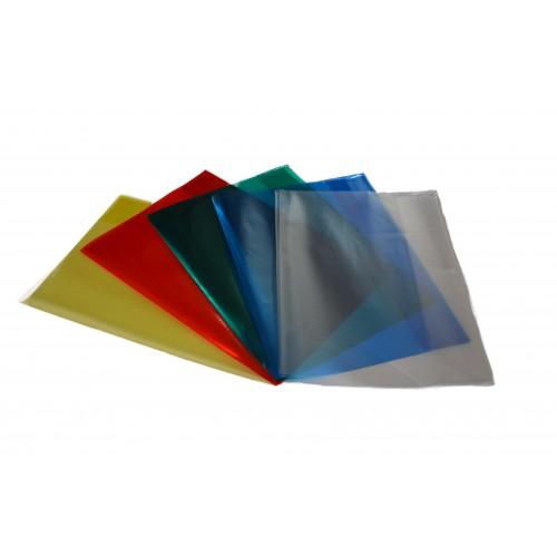 Obal na zošit A4, PVC, farebný