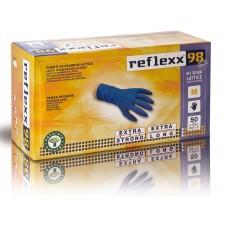 Reflexx 98 HR 50ks. latexové rukavice bez púdru EXTRA SILNÉ