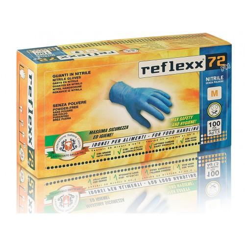 Reflexx 72 Fh 100ks. nitrilové rukavice bez púdru