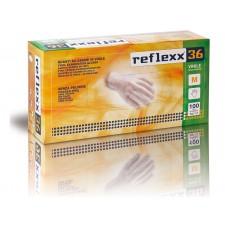Reflexx 36 100ks. vinylové rukavice bez púdru